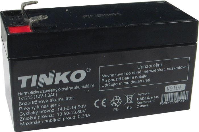 Pb akumulátor TINKO VRLA AGM 12V/1,3Ah