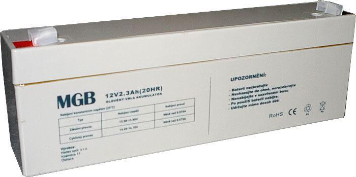 Pb akumulátor MHB VRLA AGM 12V/2,3Ah