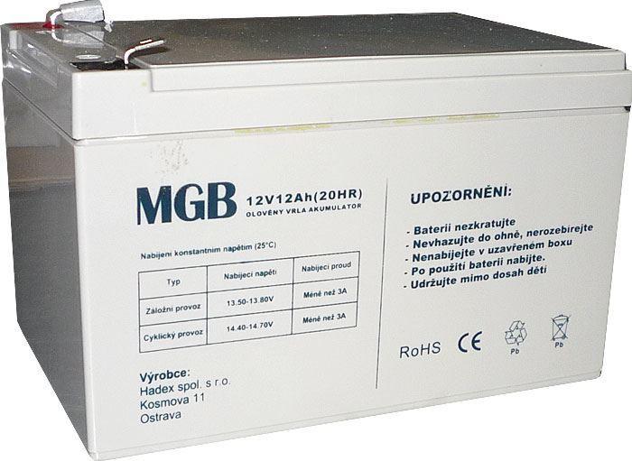 Pb akumulátor MHB VRLA AGM 12V/12Ah