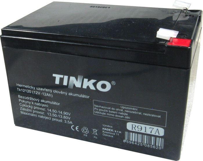 Pb akumulátor TINKO VRLA AGM 12V/12Ah