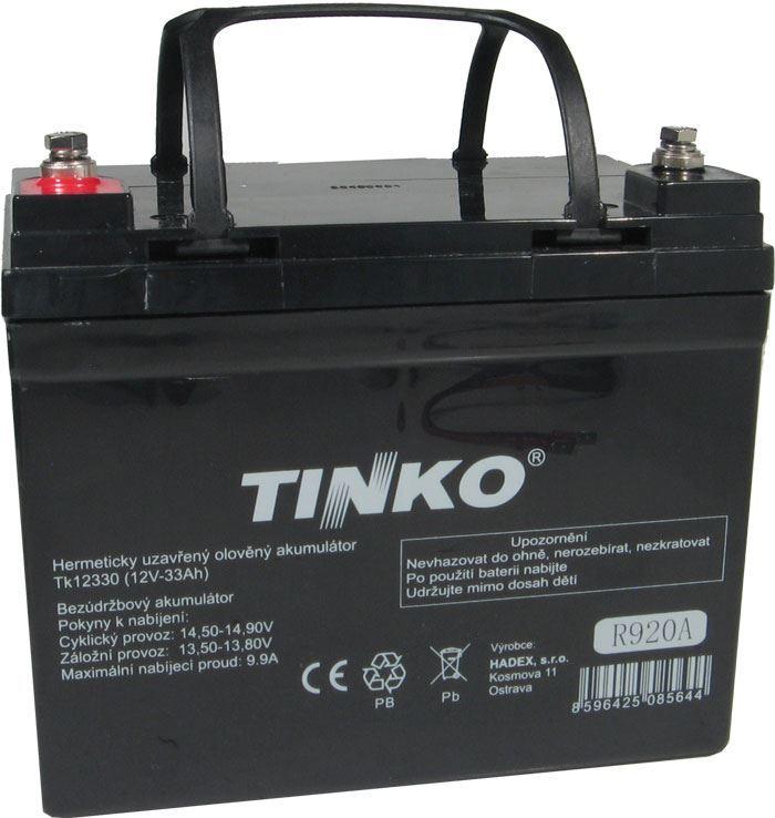 Pb akumulátor TINKO VRLA AGM 12V/33Ah