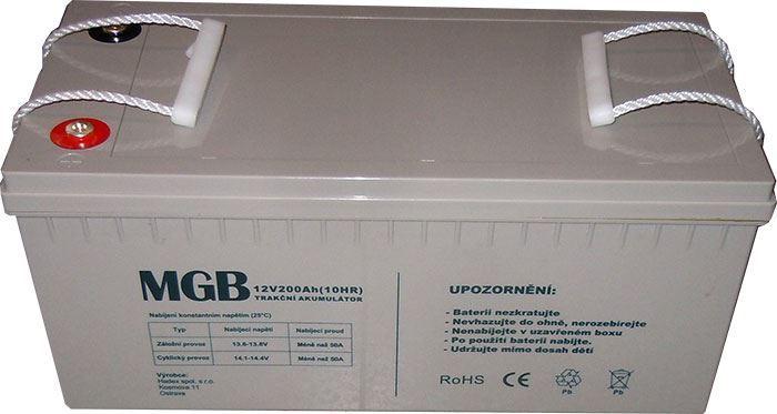 Pb akumulátor MHB VRLA AGM 12V/200Ah trakční