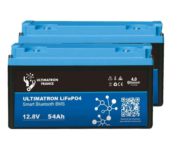 LiFePO4 akumulátor Ultimatron YX Smart BMS 12,8V/54Ah