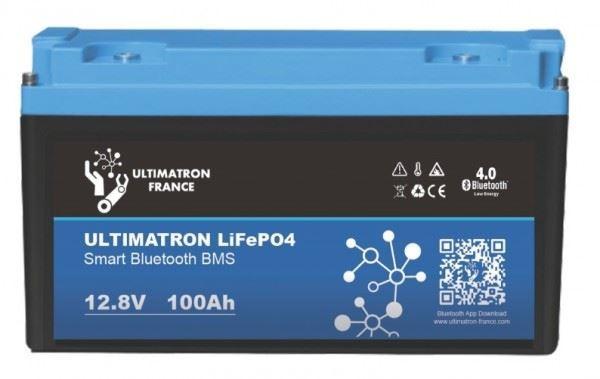 LiFePO4 akumulátor Ultimatron YX Smart BMS 12,8V/100Ah