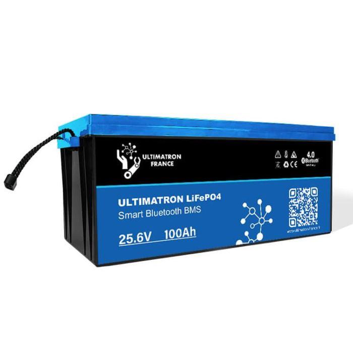 LiFePO4 akumulátor Ultimatron YX Smart BMS 25,6V/100Ah
