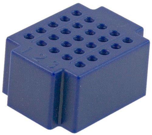 Nepájivé kontaktní pole ZY-25 25p modré