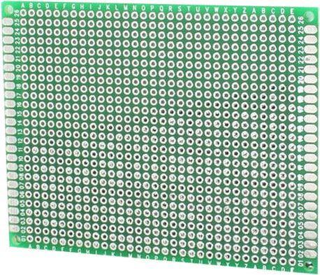 Univerzální DPS 7x9cm, 806p, RM=2,54mm, vrtaná, cínovaná