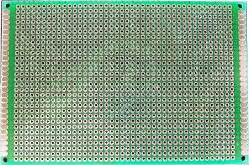 Univerzální DPS 8x12cm, 1260p, RM=2,54mm, vrtaná, cínovaná