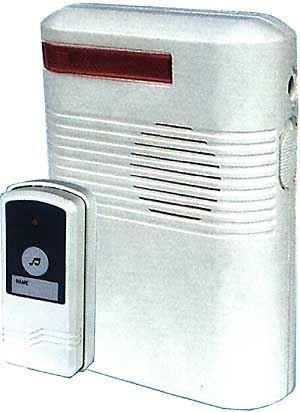 Bezdrátový zvonek Ding-Dong bateriový, použitý, vadný