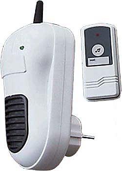Zvonek bezdrátový do zásuvky 433MHz s transformátorem