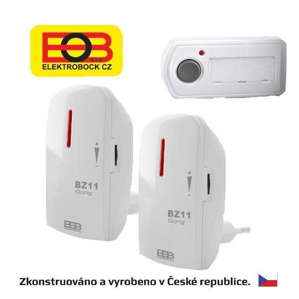 Bezdrátový zvonek - síťový BZ11-21 Elektrobock