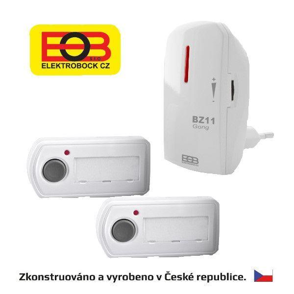 Bezdrátový zvonek - síťový BZ11-12 Elektrobock