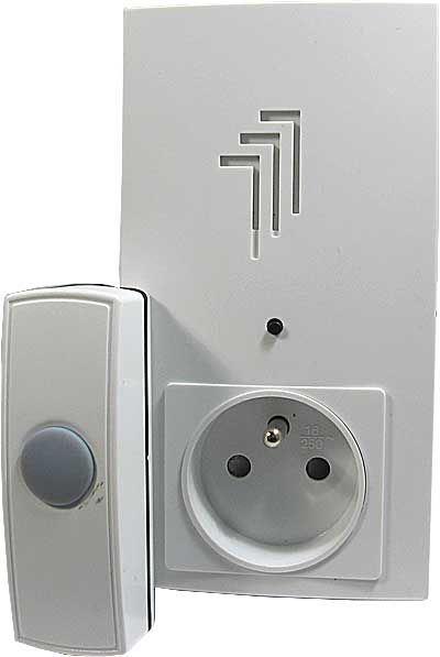 Zvonek bezdrátový do zásuvky 230V Kangtai