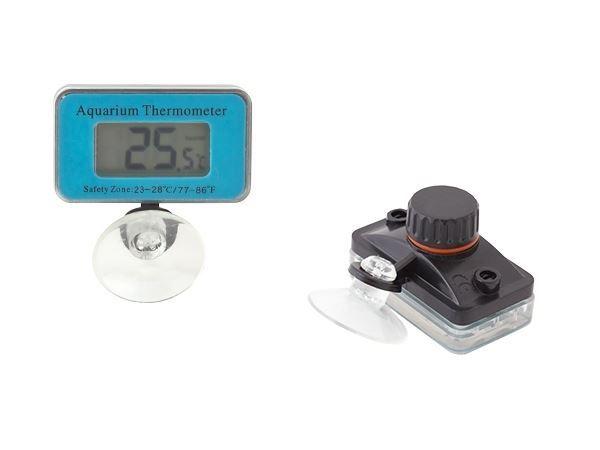 Vodotěsný Teploměr s LCD displejem