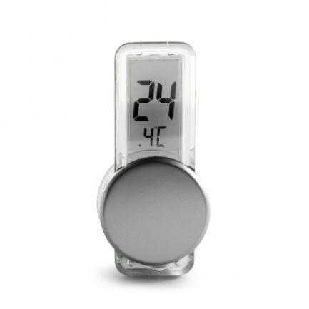 Mini teploměr s LCD displejem a přísavkou