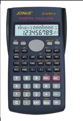Vědecký kalkulátor- kalkulačka -240 funkcí,včetně baterii
