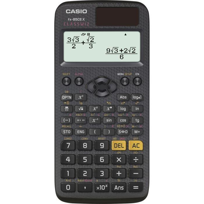 Vědecký kalkulátor- kalkulačka -379 funkcí, CASIO FX 85 CE X