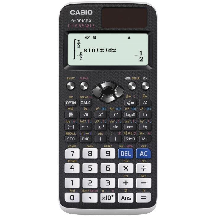 Vědecký kalkulátor- kalkulačka -668 funkcí, CASIO FX 991 CE X