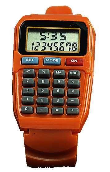 Hodinky s kalkulačkou