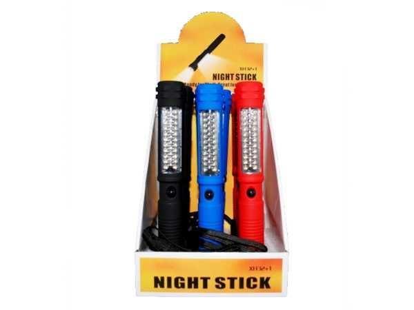 Pracovní svítilna LED 32x+1x s magnetem, napájení 4xAAA