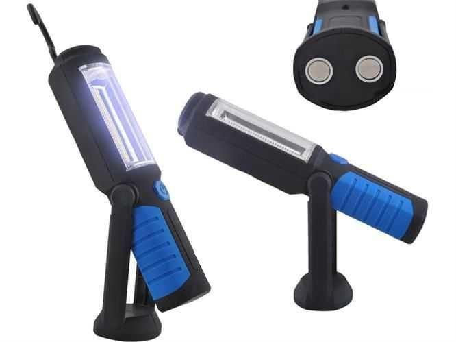 Pracovní svítilna LED 3W, napájení 3xAA 1,5V