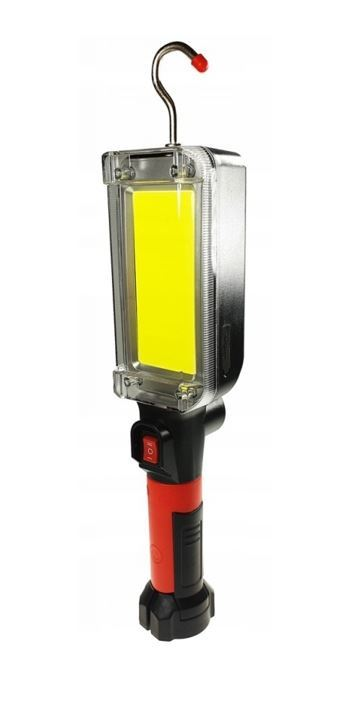 Pracovní svítilna LED COB 20W, s akumulátorem, USB