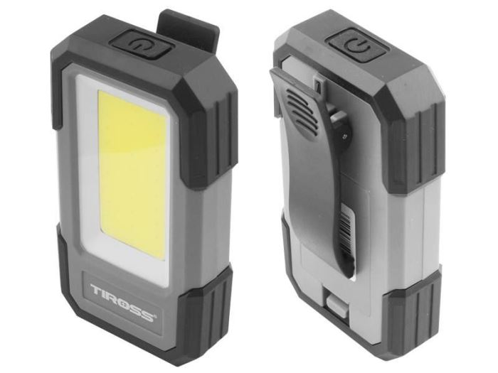 Svítilna LED COB 3W, 300lm, 3x1,5V AAA, TIROSS