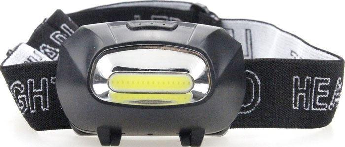 Svítilna, čelovka LED COB,napájení 3xAAA