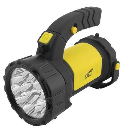 Svítilna LED ruční, napájení:.3xAA