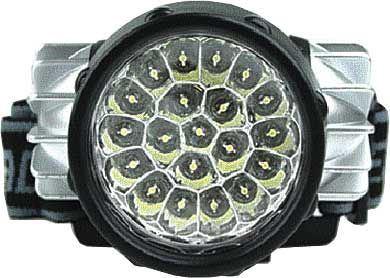 Svítilna LED 20x, čelovka, napájení 3xAAA