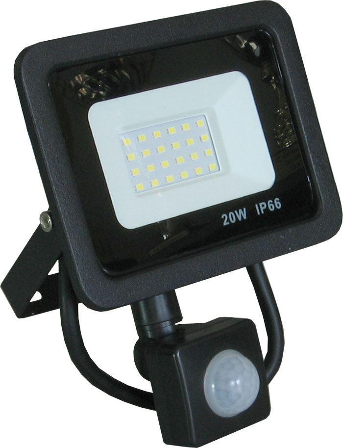 Reflektor LED 20W s PIR čidlem GR1047