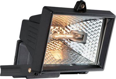 Reflektor 150W halogenový černý