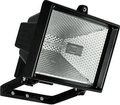 Reflektor 500W halogenový černý