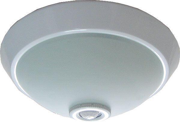 Stropní světlo s PIR čidlem, 230V/2x25W