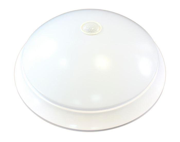Stropní světlo s PIR čidlem, 230V, 2xE27 LED