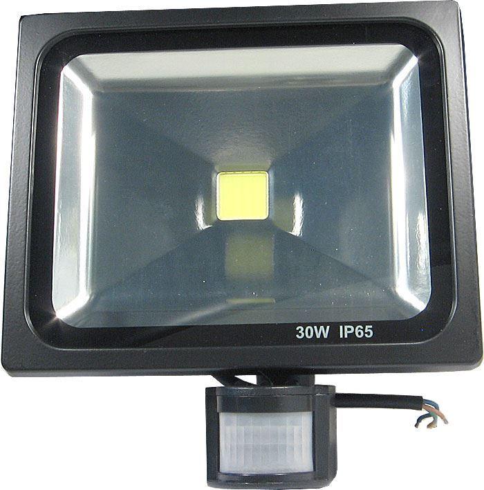 Reflektor LED 30W s PIR čidlem
