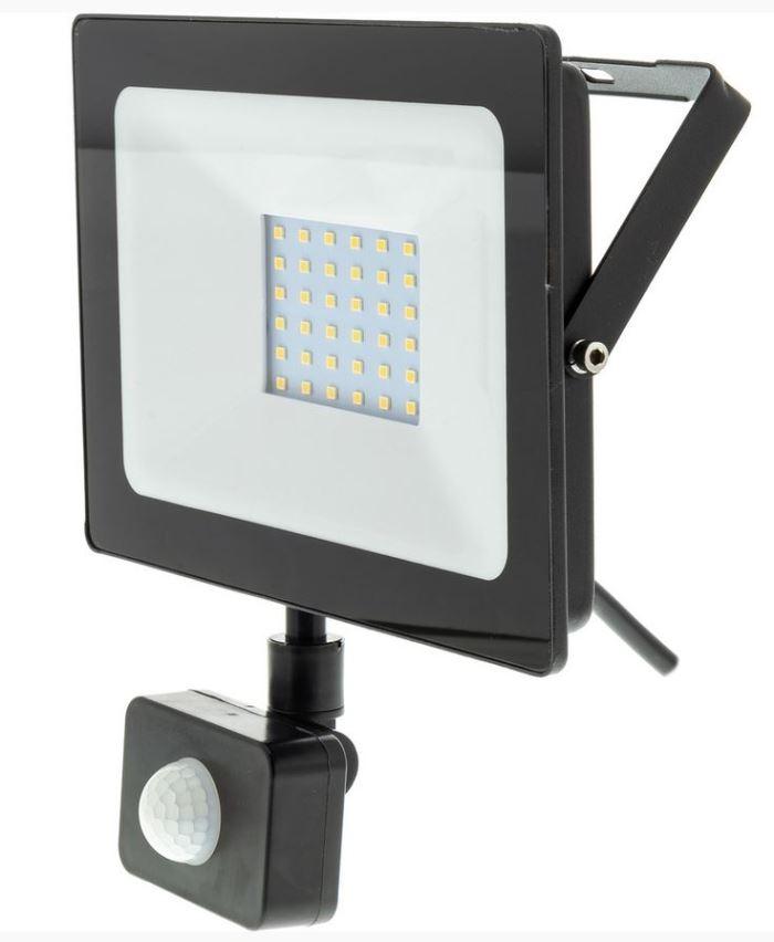 Reflektor LED 30W s PIR čidlem RSL 247 RETLUX
