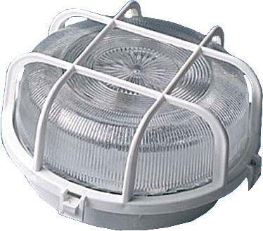 Nástěnné světlo 230V/60W bílé,kulaté