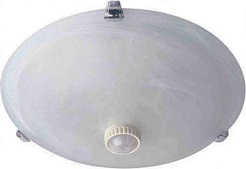 Stropní světlo s PIR ST78, 230V/2x40W, prasklina ve skle, plně funkční