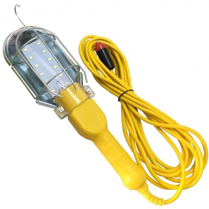 Pracovní svítilna - montážní lampa LED, 12V, přívod 5m