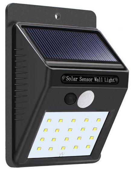 Solární svítidlo LED s PIR čidlem nástěnné /Solární světlo/