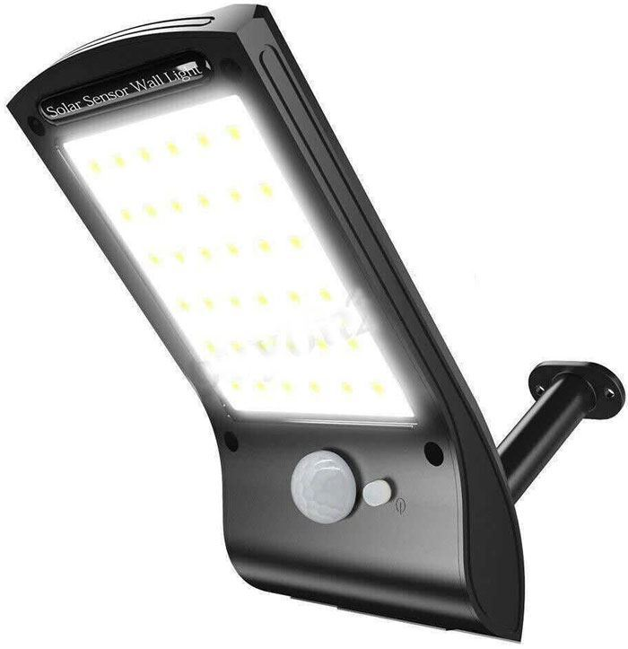 Solární svítidlo LED s PIR čidlem nástěnné i stojací /Solární světlo/