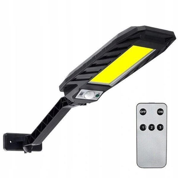 Solární svítidlo LED COB 120x s PIR čidlem nástěnné