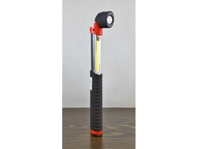 Teleskopické LED svítilna s magnetem COB LED + 1xLED