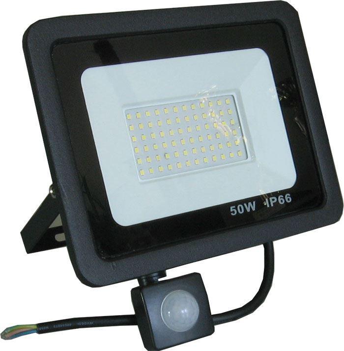 Reflektor LED 50W s PIR čidlem GR1047