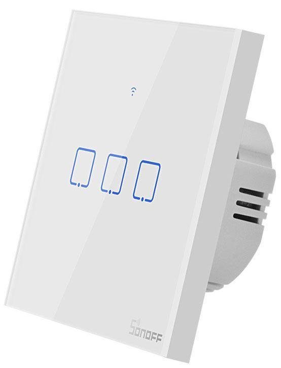 Dálkově ovládaný vypínač Sonoff TX0 3kanálový