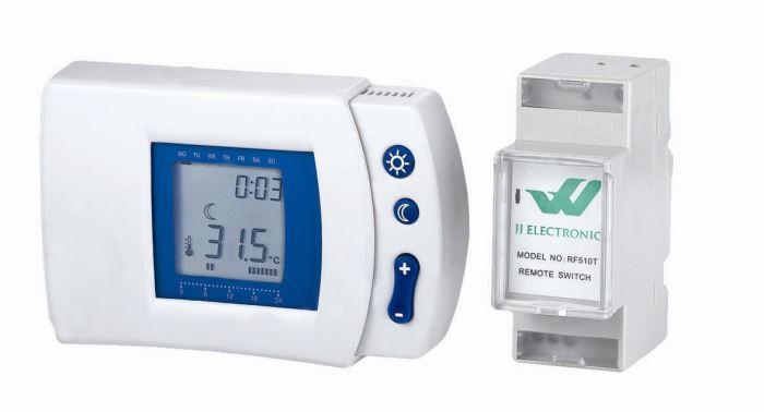 Prostorový termostat bezdrátový RF-510T programovatelný týdenní