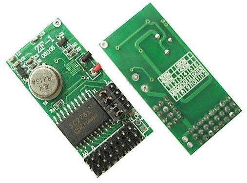 Modul dálkového ovládání ZF1 - vysílač 433MHz