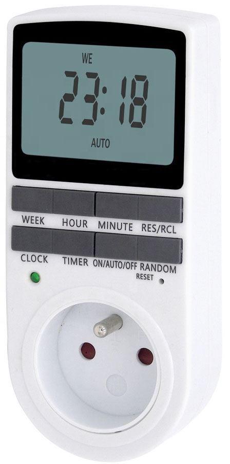 Spínací hodiny 230V digitální týdenní TM-02