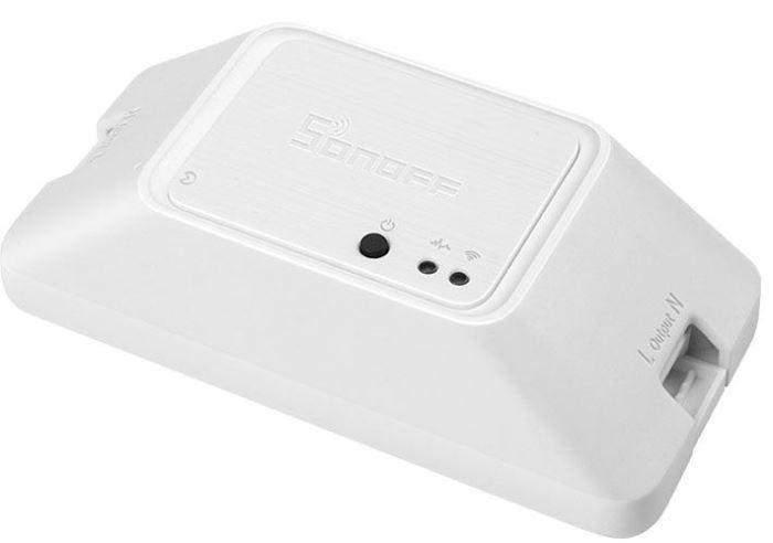 Spínač WiFi Sonoff Basic R3 230V/10A, napájení 90-260AC